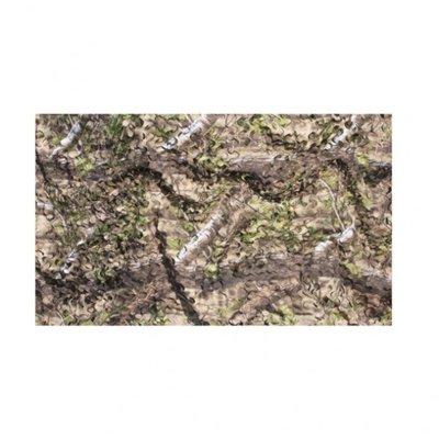 Camouflage net 2-laag natural groen (1,5x4m)