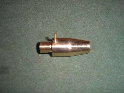 Demper adapter 50 mm 1/2 UNF + korrel 009