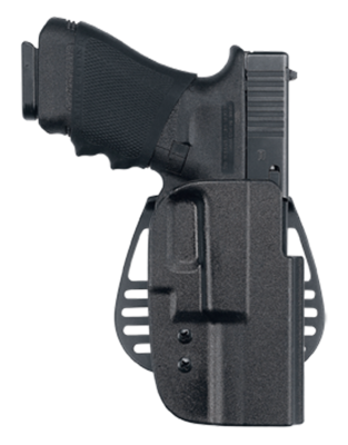 Uncle Mike's - Kydex Paddle Holster , maat 19 , linkerhand