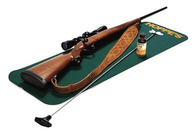 Hoppes GUN CLEANING MAT, SOFT ACRYLIC, NON-SLIP, 91x30CM