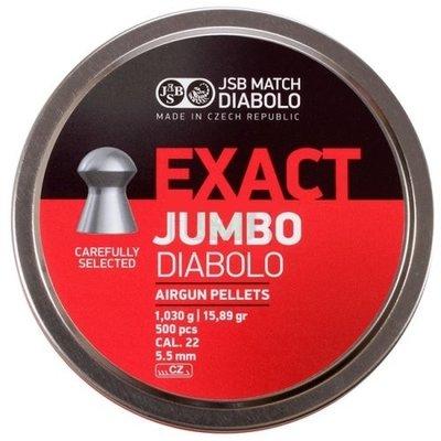 JSB Diabolo Jumbo Exact 5.52mm of 5.51mm Bigbox