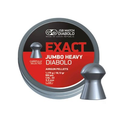 JSB Diabolo Jumbo Exact Heavy .22/5.52mm  Bigbox
