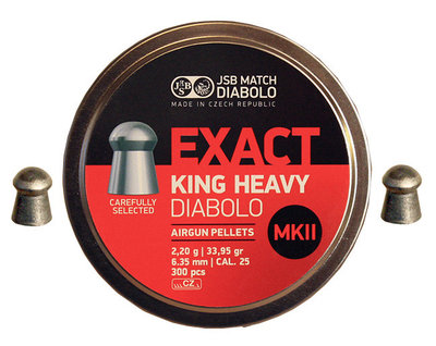 JSB Diabolo Exact King Heavy MKII .25/6.35mm