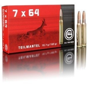 Geco classic 7x64 TM - 165 grain / 10.7 gram