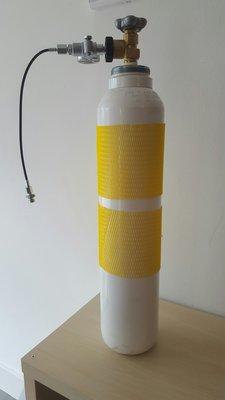 300 Bar Industriële Vulfles Inclusief Vulset (7 liter)