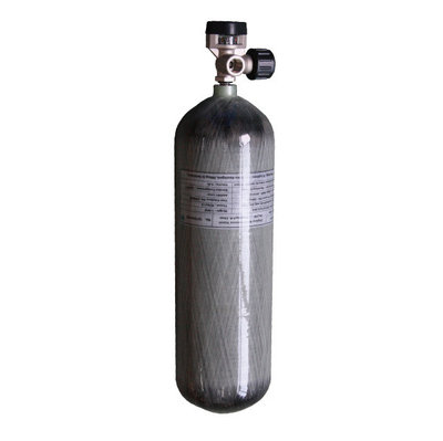 300 Bar Carbon Industriële Vulfles (6,8 liter)