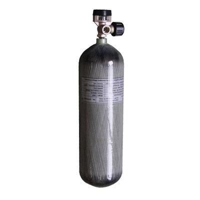 300 Bar Carbon Industriële Vulfles Inclusief Vulset (6,8 liter)