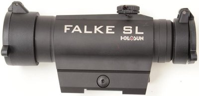 Falke SL Solar Power Assist Red-Dot (inclusief quick release mount)