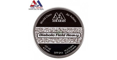 Air Arms Diabolo Field .177/4,5mm Heavy (500 stuks)