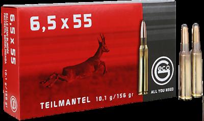 Geco classic 6,5x55 TM per 20 10,7 gram/ 156 grain