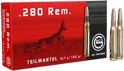 Geco classic .280 Rem. teilmantel 20 stuks 10,7 gram / 165 grain