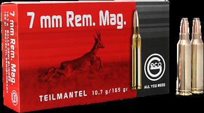 Geco classic 7mm Rem. Mag. TM - 165 grain / 10.7 gram.