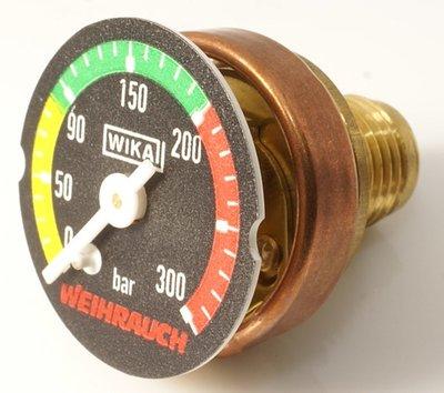HW100 manometer + adapter