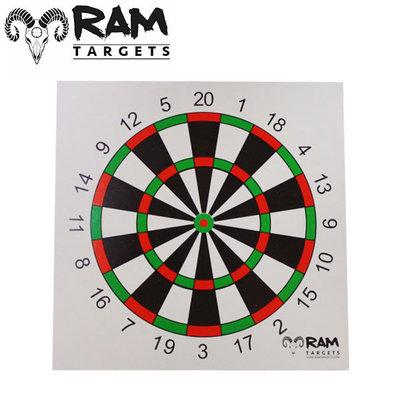 RAM SCHIETKAARTEN 14X14 DARTS