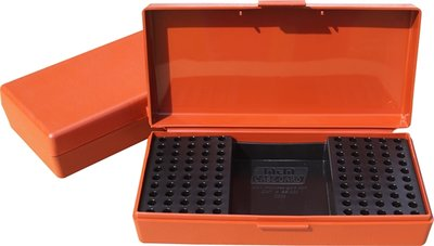 Ammo Box 100 Round 22 Long Rifle Rimfire Competition Rust
