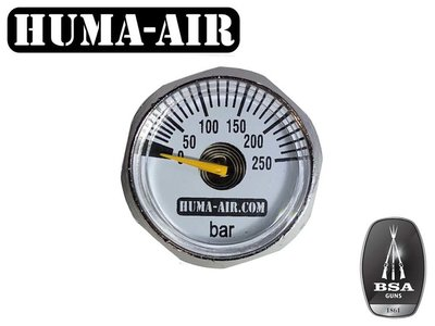 Huma-Air BSA vervangende drukmeter