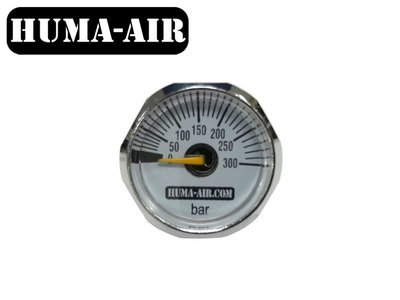 Huma-Air mini drukmeter 25mm (G1/8 BSP)