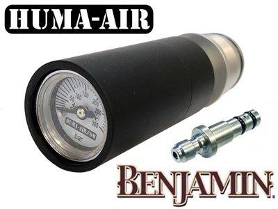 Huma-Air Quickfill set met drukmeter voor de Benjamin Marauder
