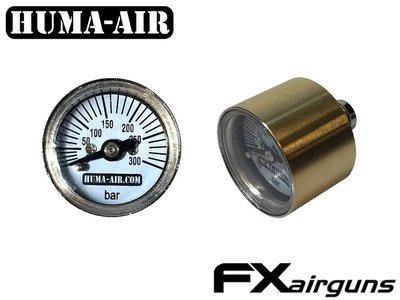 Huma-Air FX vervangende drukmeter 26mm (ronde afwerking)