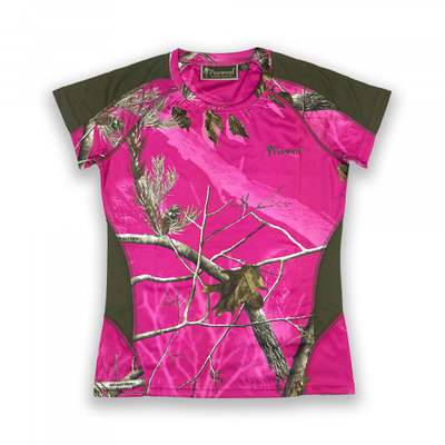 Dames T-shirt Pinewood - Ramsey camou
